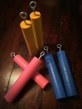 Ninja Climbing Grip Training Nunchuck Cylinders