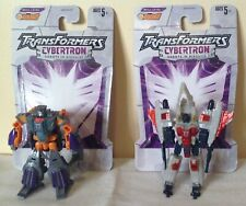 TRANSFORMERS  CYBERTRON robots in disguise STARSCREAM and MEGATRON -2005