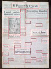 WW2-NAPOLI,LA CHIESA DI S.GIACOMO BORBANDATA (R@R@ FOTO) DEL 24-05-1943N.1825