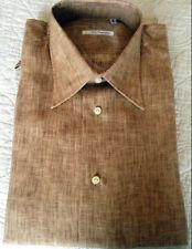 New!! Ninni d'AgostinoI Linen Beige Size 42/16-1/2