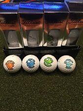 Scotty Cameron Ro Sham Bo Titleist Pro V 1x Golf Balls 4 Balls