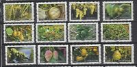 Serie sellos adhesivos de Francia 2012 Yvert AD 686/97