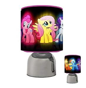 MY LITTLE PONY TOUCH TABLE BEDSIDE LAMP KIDS ROOM 2 DESIGNS + BRAND NEW