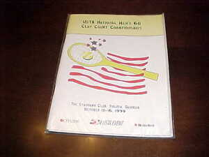 1999 USTA National Men's 60 Clay Court Championships Tennis Program