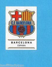 FOOTBALL CLUBS-PANINI 1975-Figurina n.106- BARCELLONA SPAGNA- SCUDETTO -Rec