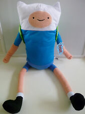 "24"" Adventure Time Finn the Human PLUSH Cartoon Network Stuffed Animal Doll"