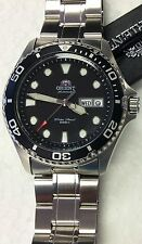 New  Orient Black Dial Ray ll  Automatic Diver Men Watch  FAA02004B