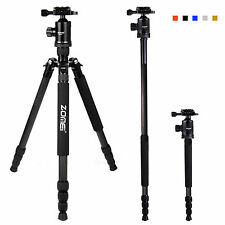 Zomei 68-Inch Z818C Compact Carbon Fibre Travel Tripod with Ball Head for Camera