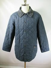 E7681 VTG BARBOUR Quilted Jacket Size L