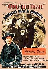 THE OREGON TRAIL Johnny Mack Brown - DVD - OFFICIAL STUDIO RELEASE - NEW!