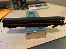 Con-Cor N Scale 4041A Pennsylvania (Maroon) Smoothside Observation Car