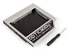 Opticaddy 2. SATA-3 HDD/SSD Caddy para HP 655 G42 G56 G61 G62 G7 G72 HDX16