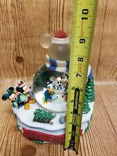 Disney Christmas 2001 Winter Wonderland Snowglobe