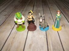 Set of 4 Shrek Playdoh Cookie Stampers Press Molds Fiona Donkey Puss in Boots