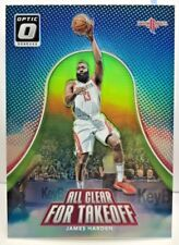 James Harden 2017-18 Donruss Optic All Clear For Takeoff LIME GREEN Prizm #d/175