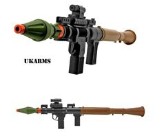 Airsoft Rocket Launcher P16385A Spring Powered Bazooka Missile Rifle UKARMS RPG