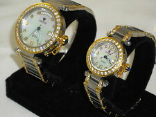 CROTON GORGEOUS W/ SWISS ETA AUTOMATIC MANS & WOMENS NEW WOW WHAT A FIND