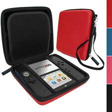 Rosso EVA Custodia Protezione Rigida Protettiva Case Cover per Nintendo 2DS