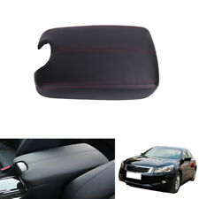 For 2008-2012 Honda Accord Console Center Armrest Cover Lid PU Leather with Base