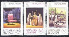 Pitcairn Islands 1977 Queen Elizabeth II/Coronation/QEII/Royalty 3v set (n40266)