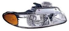 Fits 96 97 98 99 00 Town & Country Headlamp Headlight Passenger NEW 2 Bulbs