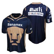 ANNIVERSARY ED-Puma PUMAS UNAM 100 ANOS Mexico Soccer Football Shirt Jersey~Sz S
