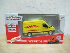 Mercedes Benz Sprinter DHL delivery van model car 1/43 majorette free shipping
