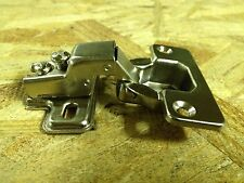 "Compact Face Frame Cabinet Hinge 1/2"" BOX of 100 Cabinet Hinges"