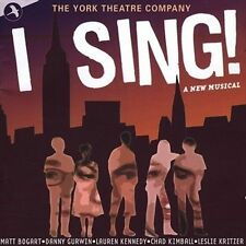 I Sing! Original Cast Recording: New York Theatre Company (2CD's, 2004, Jay) VGC