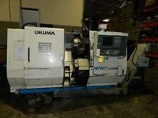 "LU-15M OKUMA ""IMPACT"" 5-AXIS TWIN-TURRET CNC TURN CENTER W/LIVE MILL - #SAM1000"