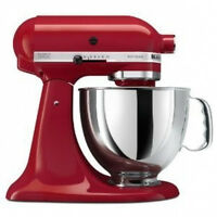 KitchenAid Stand Mixer tilt 5-QT RRK150ER REFURB R-Ksm150pser Artisan Empire Red
