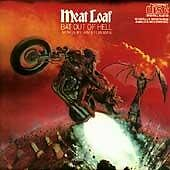 Bat Out of Hell by Meat Loaf (CD) All Revved up With No Place to Go