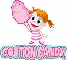 "Cotton Candy Decal 20/"" Concession Food Truck Trailer Van Vinyl"