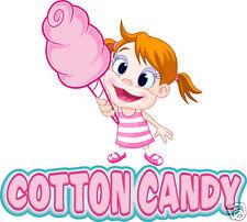 Cotton Candy Concession Decal 14 Food Truck Trailer Cart Vinyl Menu Sticker