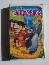 Walt Disney's The Jungle Book Black Diamond Classic VHS Video Tape BOB100916