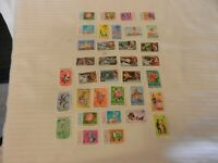 Lot of 35 Maldive Islands Stamps, Weather, Mail, Flowers, Space, Boy Scouts