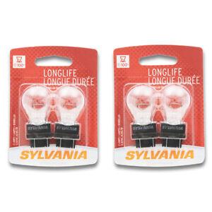 Sylvania Long Life - Two 2 Packs - 3057LL Light Bulb Back Up Brake Cornering dc