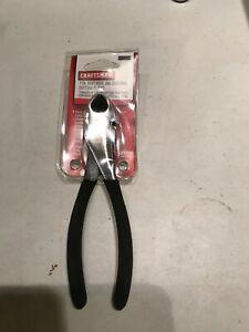 "Craftsman 45084 7"" Bent Wide Jaw Diagonal Cutting Pliers USA New"