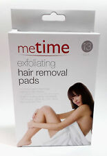 Exfoliating Hair Removal Pads Metime Arms, Legs etc 13 Pack UK Seller