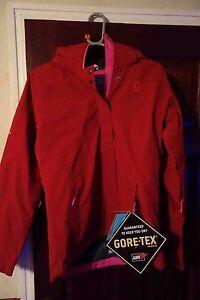 Scott Mistie Women's Ski Snowboard Jacket RIO RED