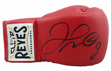 Floyd Mayweather Jr. Authentic Signed Cleto Reyes Red Boxing Glove BAS Witnessed