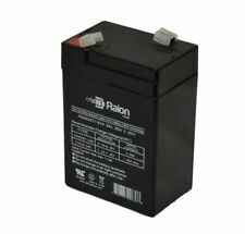 Raion Power 6V 4.5Ah Replacement SLA Battery For Long Way LW-3FM4