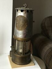 Vintage Eccles The Protector Lamp And Lighting Type 6 Miners Lamp