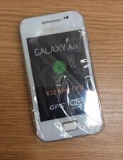 SAMSUNG Ace gt-s5830i SIM Gratis Sbloccato Smartphone Android bianco-Telefono (solo)
