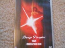 "DEEP PURPLE ""1974 CALIFORNIA JAM"" DVD GLENN HUGHES DAVID COVERDALE GREAT"