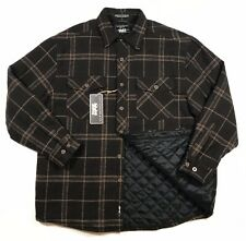 LEVIS  Shirt Jacket FLANNEL Quilted Lining Work Chore Plaid - Size M / Large New