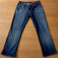 MISS SIXTY Tommy One Style Ladies Straight Leg Blue Jeans Size 34