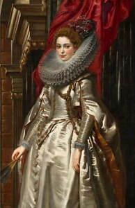 Peter Paul Rubens Marchesa Brigida Spinola Doria Poster Giclee Canvas Print