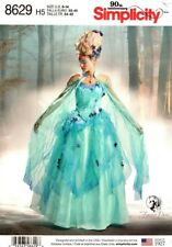 Simplicity Sewing Pattern 8629 Firefly Path Corset Cape Skirt Costumes Sz 6-14