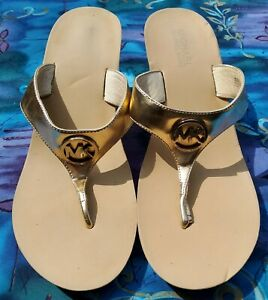 MICHAEL KORS WOMENS  SLIPPERS, SHOES, SIZE 9 1/2